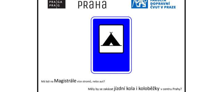 Zóna sdílení názoru na řešení pražské dopravy