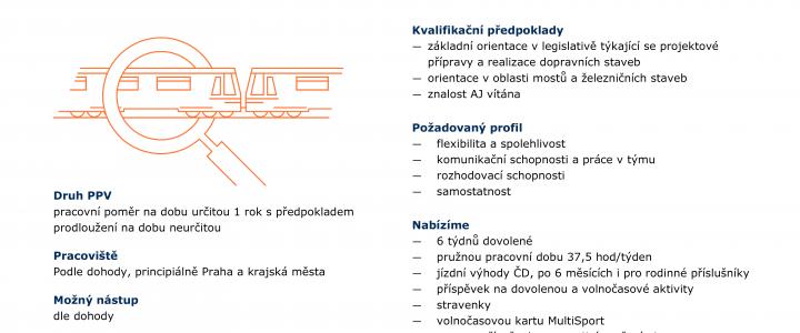 Nabídka práce – Specialista stavby železničního svršku
